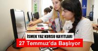 İstanbul'da Yaz Okulu Kayıtları 27 Temmuz'da