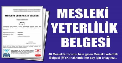 MYK Belgesi