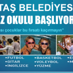 Beşiktaş belediyesi Yaz Kursları