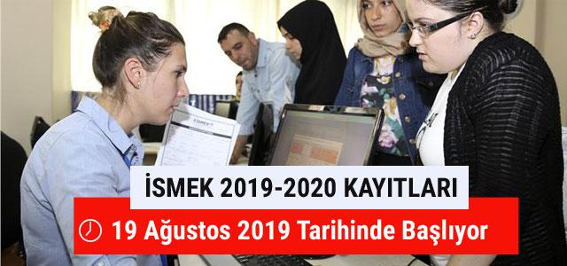 İsmek 2019-2020